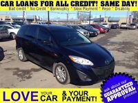 2012 Mazda MAZDA5 GS * CAR LOANS w/ $0 DOWN OPTION