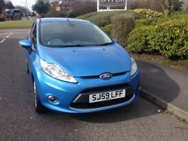 FORD FIESTA 59 REG WITH FULL Serves