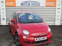 Fiat 500 S (MEGA SPEC AND £30.00 ROAD TAX) FREE MOT'S AS LONG AS YOU OWN THE CAR!!! (red) 2014