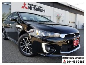 2016 Mitsubishi Lancer SE LTD; Local BC vehicle! LOW KMS!