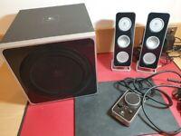 Logitech Z4 2.1 Speaker Set