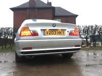 BMW 318ci swap or cash 💵