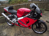 2002 APRILIA MILLIE 1000cc MOT, hpi CLEAR, GOOD TYRES & WHEELS CHAIN AND SPROCKETS GOOD SWAP MAYBE!