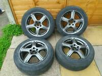 5x100 Momo gt2 alloys