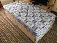 Single Mattress and Divan with drawers