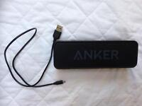 Anker Bluetooth Speaker with USB charger