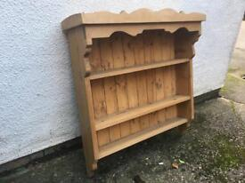 Welsh Dresser Plate Rack / Shelving Unit