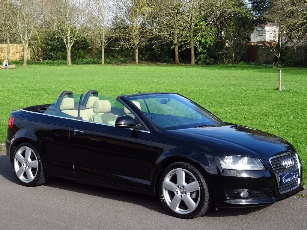 2009 09 audi a3 cabriolet 1 8 tfsi sport 2dr heated leather bluetooth in poole dorset. Black Bedroom Furniture Sets. Home Design Ideas