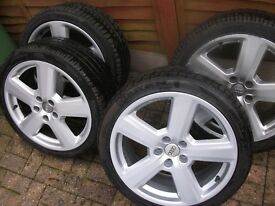 Genuine Audi RS6 Ronal alloys wheels 5x112