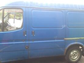 Ford transit side loading sliding door mk5 mk4 mk3 smiley