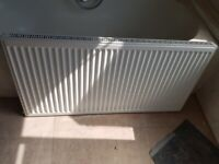 Single panel radiator, very good condition (120 x 60, with brackets)