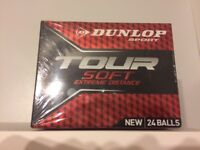 Brand new Dunlop golf balls