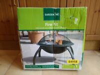 Garden Fire Pit - unused, in box