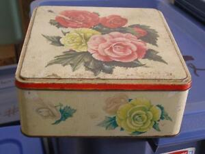 Collections of Cookie Tins/Cannisters