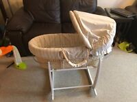 Moses basket and swing stand