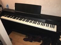 Casio privia PX-750 digital piano, less than 3 years old, excellent condition.