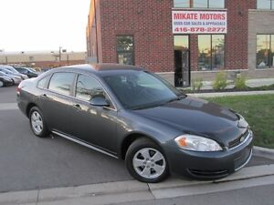 WOW CLEAN 2010 CHEVROLET IMPALA LT 145,000 KM $6,999 CERTIFIED