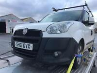 2012/61 Fiat Doblo✅Non Runner✅Spares Repairs✅1.3 Sxi✅Nationwide delivery available