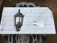 Ryedale Outside wall light!