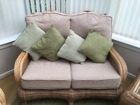 Excellent condition hardly used conservatory furniture