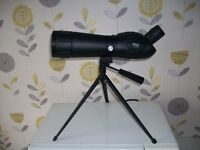 Telescope wth carry case and small tripod