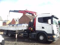 SCANIA 114L 340,2003 6X2,WITH 2008 FASSI F170 17T MTR BEHIND CAB CRANE,NO VAT TO PAY ON EXPORT