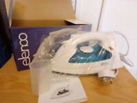 elenco iron new and boxed never been used