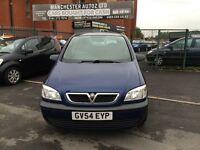Vauxhall Zafira 1.8 i 16v Life 5dr LONG MOT,