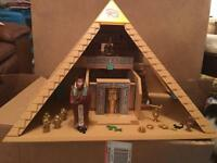 Rare Playmobil Pyramid and Sphinx!!!