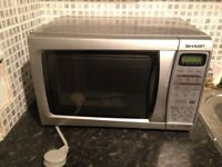 Sharp Microwave Silver Full Working Order