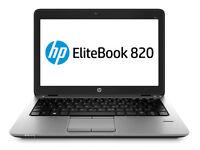 "NEW HP EliteBook 820 G2 12.5"" Intel Core i5-5200U Win 7 Pro Laptop (Win 10 available)"