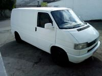 VW T4 1993 2.4 diesel, with leather seats and trimmed out nice, serviced , new mot 194k