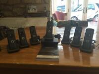 Siemens Sextet Phone Set