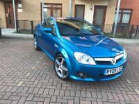 Vauxhall Tigra Convertible MK 2,1.4i Exclusiv 2dr Petrol Convertible Blue 1.3,2009, full S/H