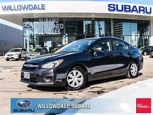 2013 Subaru Impreza 2.0i No Accidents, One Owner, Our Own Off Le
