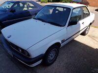BMW E30 316I COUPE ALPINE WHITE II .e34 e36 325i 320i e21