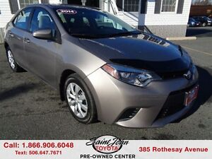 2014 Toyota Corolla LE with Heated Seats + Backup Cam $126.43 BI