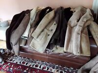 Genuine sheepskin coats