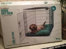 Large pet crate