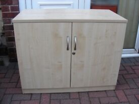 LOCKABLE OFFICE FILING CABINET CUPBOARD FOR FILES DOCUMENTS PAPERWORK BOOKS ETC