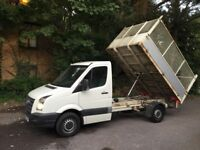 VW CRAFTER TIPPER CR35 136 BHP ONLY 52000 GENUINE MILES £7,995 NO VAT NO OFFERS BARGAIN SLOUGH M4 J7