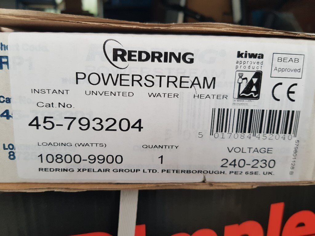 Redring powerstream 10.8kw electric water heater | in Leicester ...