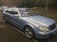 Mercedes-Benz S600 (LWB) 5.8L v12 (spares or repair).