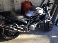 Cagiva raptor , Suzuki tl1000 engine and mv agusta frame , viper cans sounds great bargain at£2000