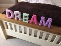 'Dream' letters