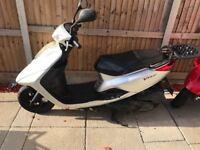 Yamaha vity 125 moped scooter