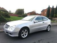 2006 Mercedes C Class C220 Cdi Coupe Automatic Low Miles