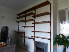 Danish Teak Shelving Unit - Circa 1960's - Paul Cadovius - Made in Denmark