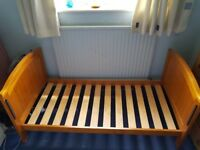 Wooden cot bed/ child bed