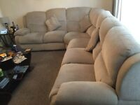 Sofa. Corner suite. Lazy boy. Very big suite.